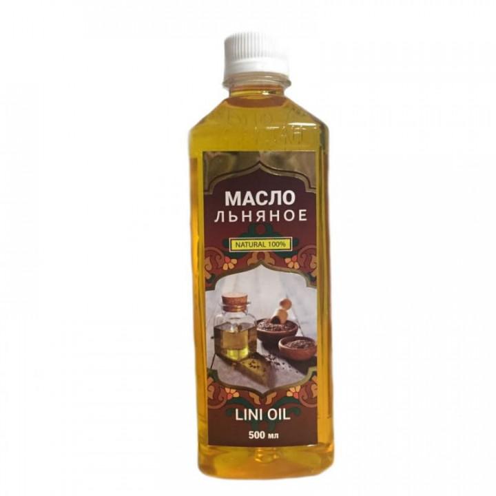 Масло льняное Сеадан в бутылке 500 мл