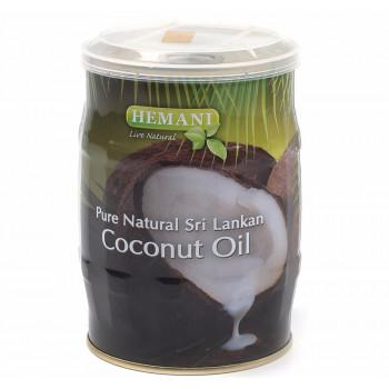 Масло кокоса HEMANI косметическое в жестяной баночке 400 мл