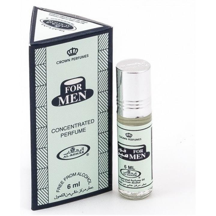 Масляные духи Al Rehab For Men 6 мл