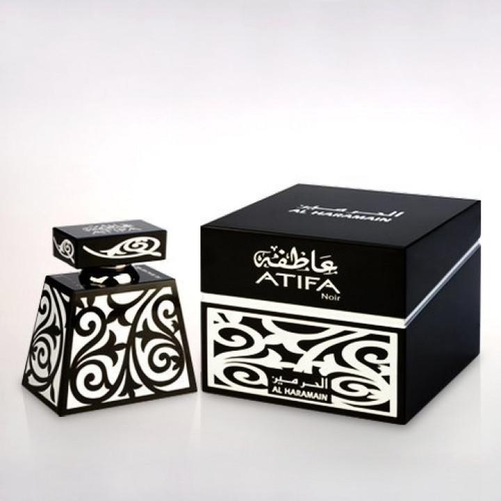 Арабские масляные духи AL-HARAMAIN ATIFA Noir 24 мл.
