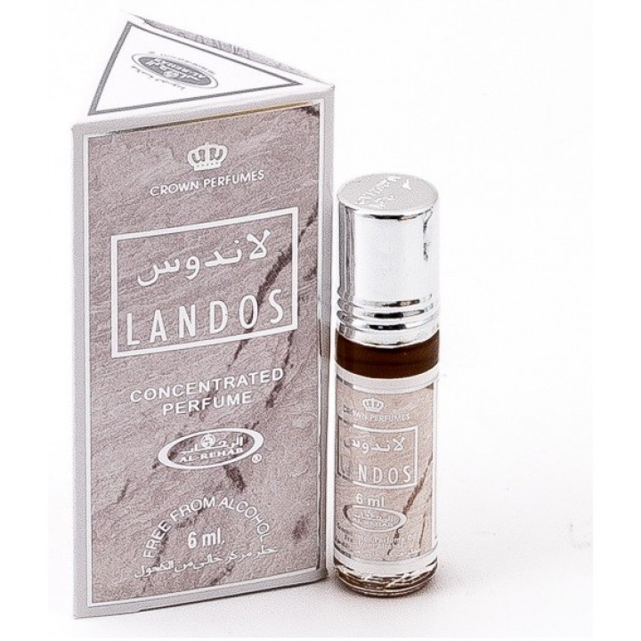 Мужские арабские масляные духи Al Rehab Landos 6 мл