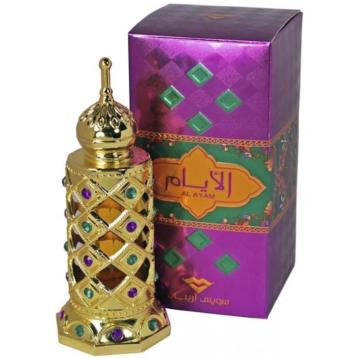 Арабские масляные духи SWISS ARABIAN AL AYAM 15 мл.