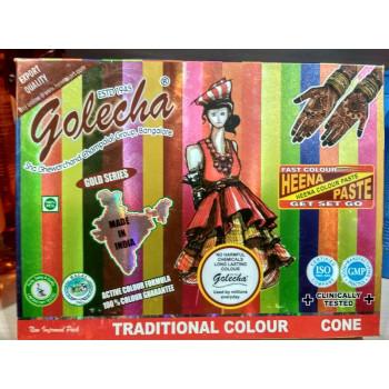 Хна для мехенди Golecha Разноцветная, 12 штук