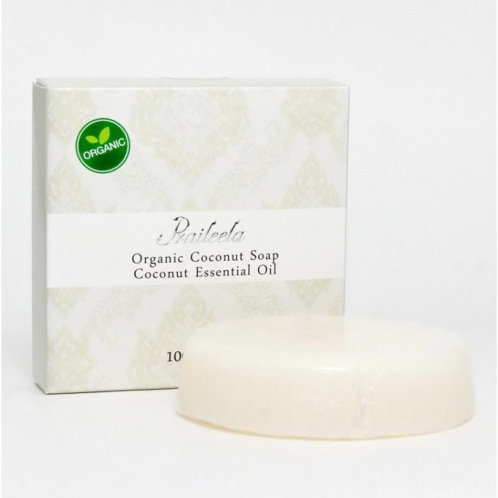 Органическое тайское мыло Praileela Кокос 100 гр.