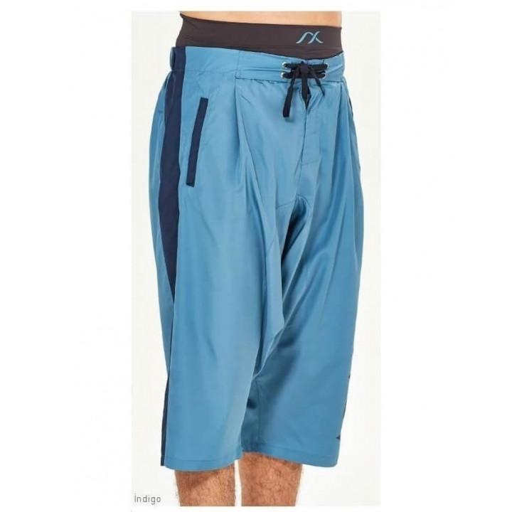 Плавки и шорты ШМ голубые + синий дышащие