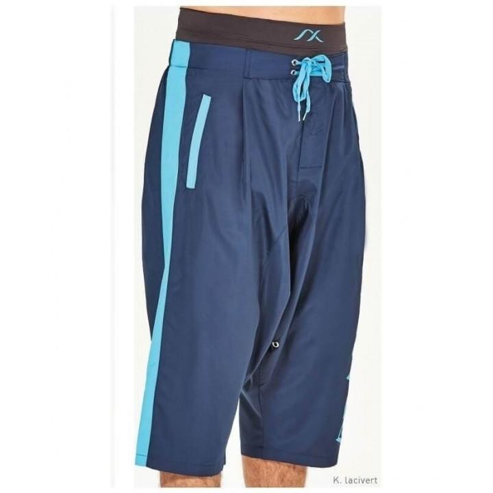 Плавки и шорты ШМ синие+голубым дышащие